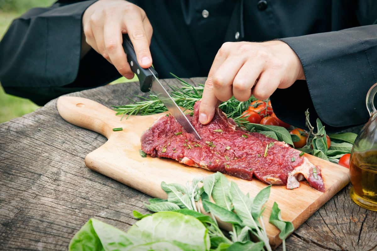 Mięso świeże i marynowane z dostawą